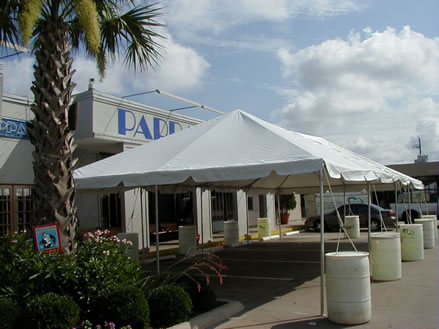houston outdoor party tent rentals | turn key event rentals