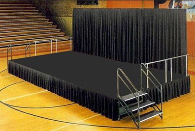 houston stage & dance floor rental | turn key event rentals
